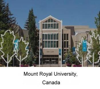 應外系交流資源-United States Mount Royal University